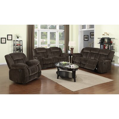 Teddy Bear 3 Piece Living Room Set