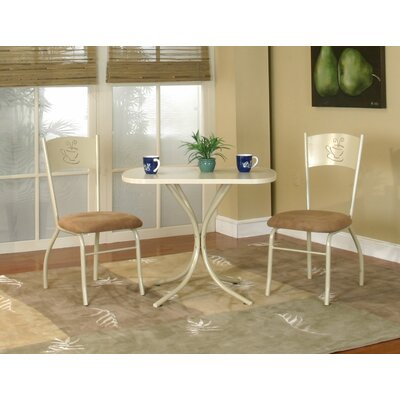 3 Piece Dining Set Finish: Latte