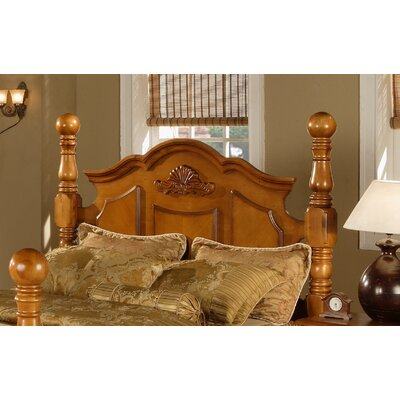 Brighton Wood Headboard Size: King