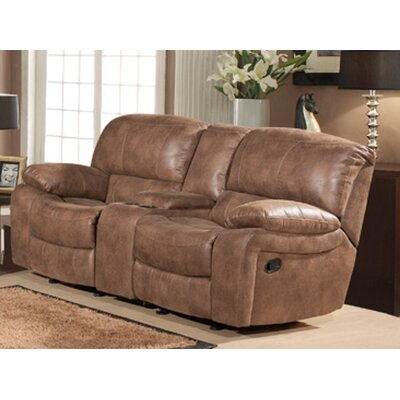 SU-AC1003-21 TG2582 Sunset Trading Snuggle Up Dual Rocking Reclining Loveseat