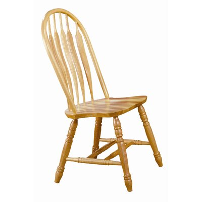 Sunset Selections Comfort Back Side Chair Finish: Nutmeg / Rich Honey Light Oak