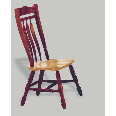 Richards Aspen Comfort Back Side Chair Finish: Nutmeg / Rich Honey Light Oak