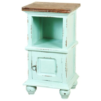 Kaelyn Cottage End Table Finish: Light Blue