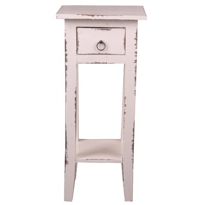 Tompkins Narrow End Table Color: Stained