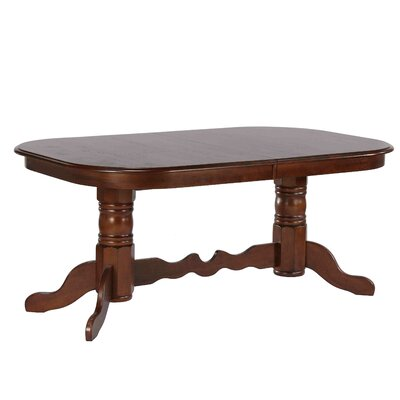 Hansen Double Pedestal Extendable Dining Table