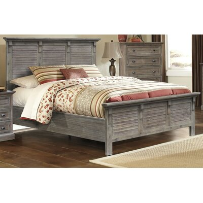 Kenric Panel Bed Size: King