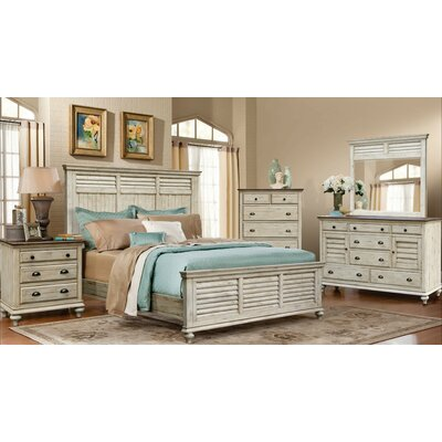 Manna Panel 5 Piece Bedroom Set Size: King