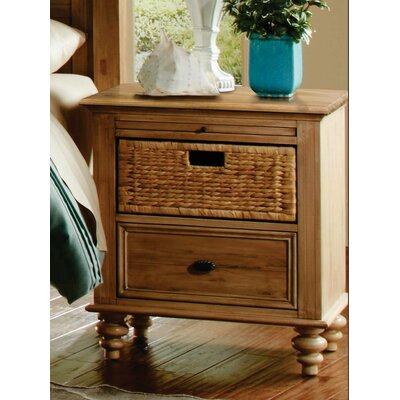 Kinsey Vintage Casual 1 Drawer Nightstand