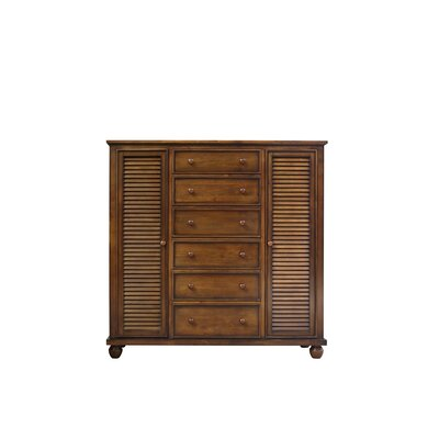 King Shutter Wood Armoire