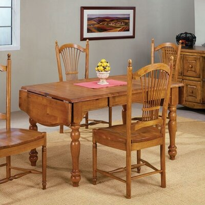 Cheap Sunset Trading Light Oak Drop Leaf Dining Table (TG1693)