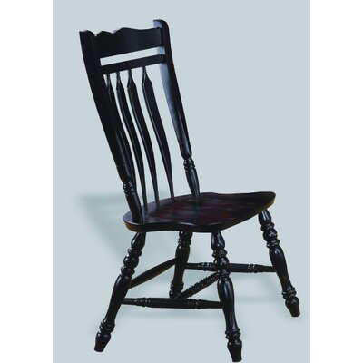 Sunset Trading Sunset Selections Aspen Comfort Back Side Chair - Finish: Antique Black at Sears.com