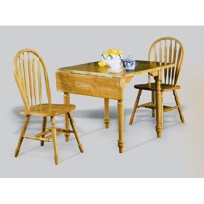 Richards Drop Leaf Dining Table Finish: Rich Honey Light Oak