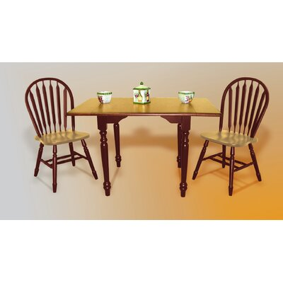 Drop Leaf Dining Table Finish: Nutmeg / Rich Honey Light Oak