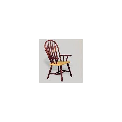 Low Price Sunset Trading Sunset Selections Arm Chair Finish: Nutmeg / Rich Honey Light Oak