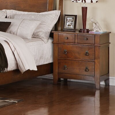 Lease to own Tucson 4 Drawer Nightstand...