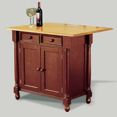 Sunset Selections Kitchen Island Finish: Nutmeg / Rich Honey Light Oak
