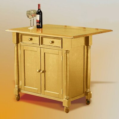 Sunset Selections Kitchen Island Finish: Rich Honey Light Oak