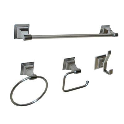 4-piece Simon Bathroom Hardware Set