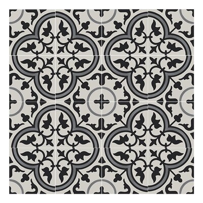 Casa 8 x 8  Handmade Cement tile in Multi-Color