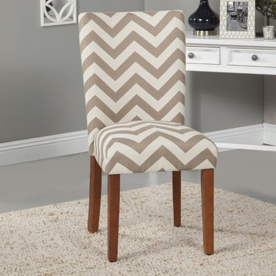 Chevron Parsons Chair
