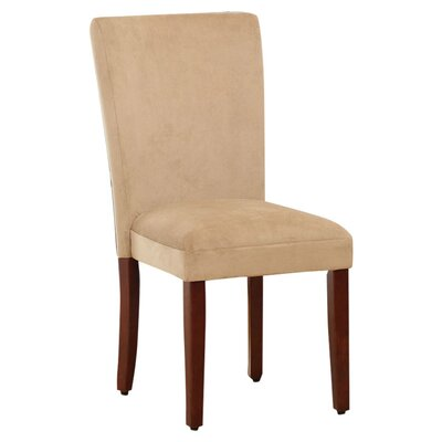 Side Chair Upholstery: Rich Tan Mocha