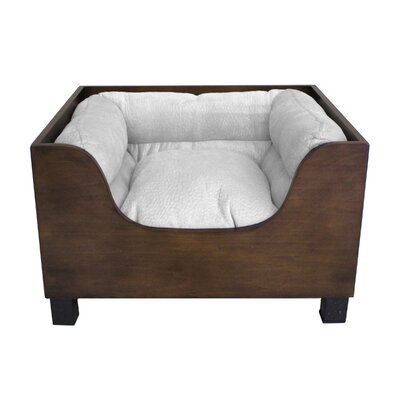 Modern Decorative Dog Sofa with Wood Panel