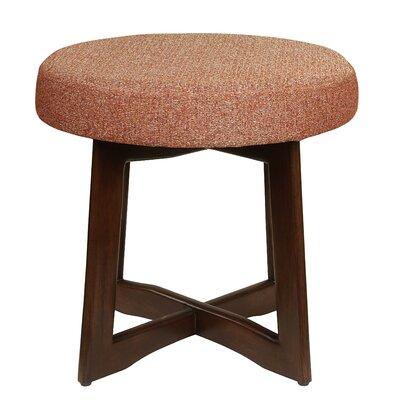 Washington Accent Stool Upholstery: Autumn Orange
