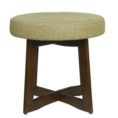 Washington Accent Stool Upholstery: Citron Green