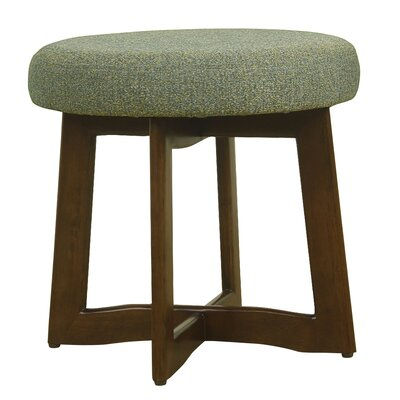 Washington Accent Stool Upholstery: Teal