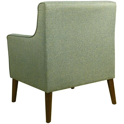 Jones Street Mid Century Arm Chair Upholstery: Teal