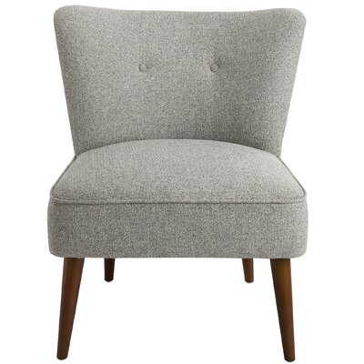 Westfield Armless Side Chair Upholstery: Gray