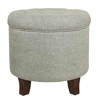 Brandee Tufted Storage Ottoman Upholstery: Gray