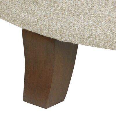 Brandee Tufted Storage Ottoman Upholstery: Twine