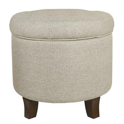 Brandee Storage Ottoman Upholstery: Twine