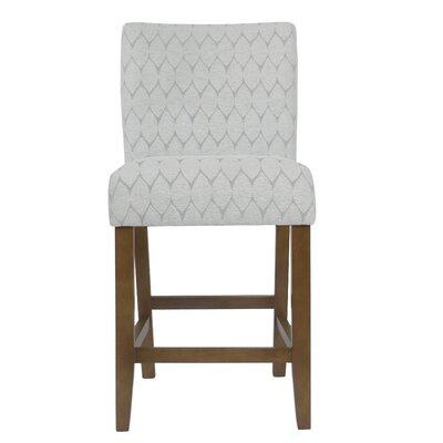 Marina Classic Parsons 25 Bar Stool Upholstery: Textured Gray