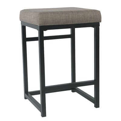 Ectasia Open Back 16 Bar Stool Upholstery: Brown