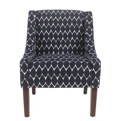 Elston Armchair Upholstery: Navy