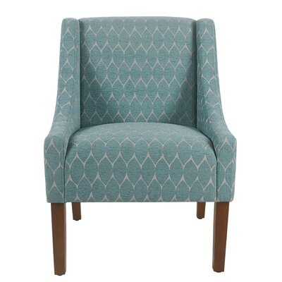 Elston Armchair Upholstery: Teal