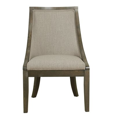 Rawley Industrial Upholstered Dining Chair