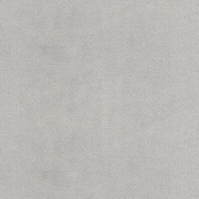 Porras Round Ottoman Upholstery: Silver