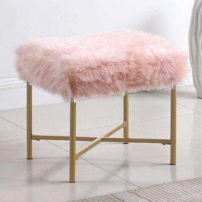 Becker Ottoman Upholstery: Pink