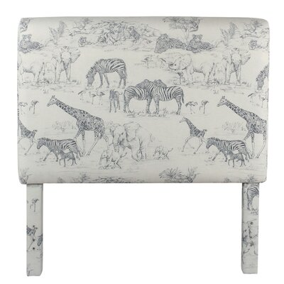 Gretta Jungle Twin Upholstered Panel Headboard