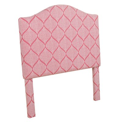 Grimpante Strawberry Twin Upholstered Panel Headboard