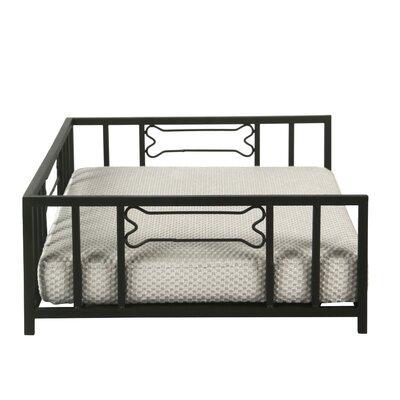 Clancy Decorative Metal Pet Cot