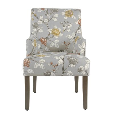 Arrowwood Cotton Upholstered Dining Chair Color: Dove Floral