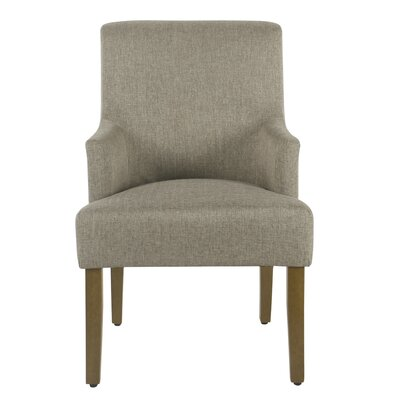 Arrowwood Dining Chair Color: Crosshatch Linen