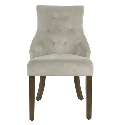 Arundel Tufted Dining Chair Color: Dove Gray