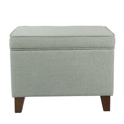 Gil Medium Storage Ottoman Upholstery : Aqua