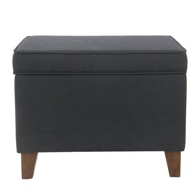 Gil Medium Storage Ottoman Upholstery : Navy