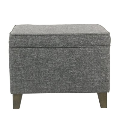 Gil Medium Storage Ottoman Upholstery : Slate Gray
